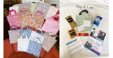 Bags os love Rochester Diocese