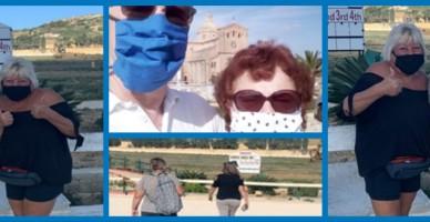 Malta Walking Collage Banner