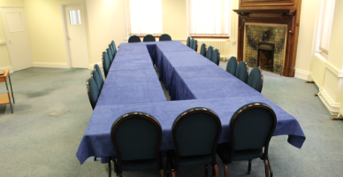 Prince William Suite - Boardroom Layout