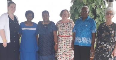 Tonga and Melanesia visit