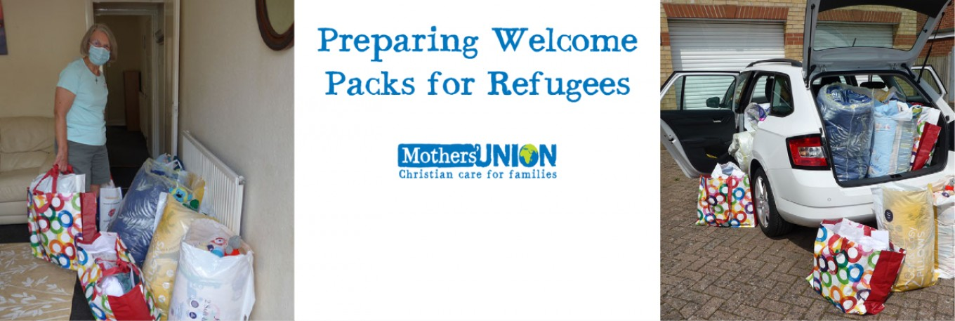 Welcome Packs for Refugees (bedding)