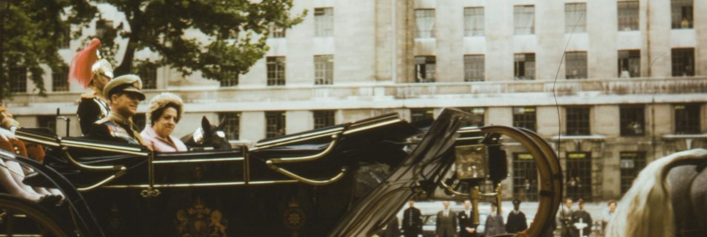Prince Philip In Procession